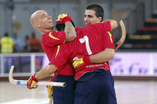 ~España, pentacampeona consecutiva sobre ruedas~ Felicidades a la selección de Hockey patines ~