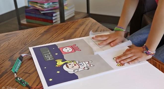 ~Energía eléctrica. Tu propio anuncio interactivo con papel. Disney Research HUB~
