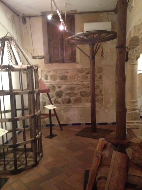 Rueda de despedazar utilizada por La Inquisición en España